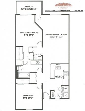 Westervile apartments floor plans for 2 bedroom floor plans with basement
